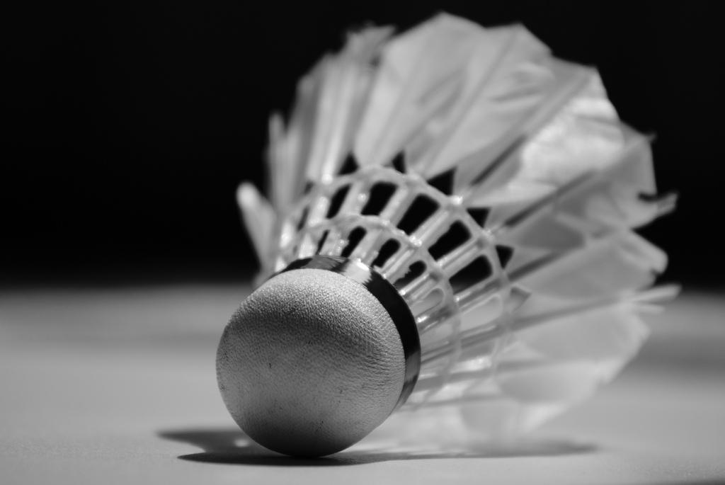 Volant de badminton